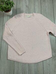 BODEN Women's Wool Blend Knit Jumper Sweater   UK 22   Pink [read desc]