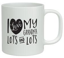 I Love my Grandma Lots and Lots White 10oz Mug