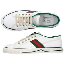 NEW GUCCI TENNIS 1977 GG JACQUARD SNEAKERS SHOES 11 G/US 11.5 RFID CODE!