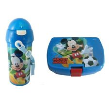 Mickey Mouse Sandwich Box and Drinks Flask