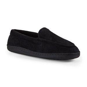 PINK K Women's Bernadette Black Loafer Slippers #50005 Medium (7/8) Wide