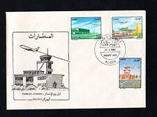1989- Algeria- Algerie- Airports- Aircraft- Planes- Aviation-Buildings Transport