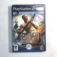 Medal of Honor: Rising Sun (Sony PlayStation 2, 2003) PS2- PAL - VGC