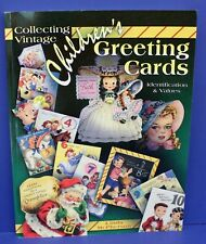 Book Collecting Vintage Children's Greeting Cards Mcpherson 2006 New