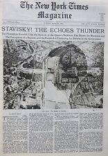 GRAF ZEPLIN TROTSKY LENIN HITLER STAVISKY 4-1934 April 29 CHARLESTON ST MICHAEL