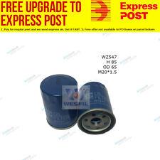 Wesfil Oil Filter WZ547 fits Honda Jazz 1.4 (GD),1.4 i (GE),1.5 (GD),1.5 i (GE)