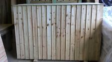 6ft x 4ft Feathered Edge Wood Fence Panels, Heavy Duty fencing