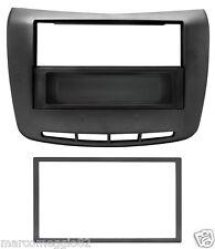 Mascherina autoradio ISO/2Iso/Doppio DIN nero lucido LANCIA Delta 10>