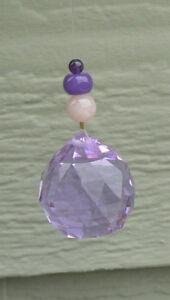 Feng Shui Spirit Crystal - 40 mm purple/blue