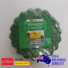 Yankee Candle - Single Wax Fragrance Melt Tart - Alfresco Afternoon