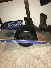 Onewheel Plus Board - Black / Blue - Used in good condition and functions new