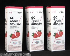 GC Tooth Mousse relieves whitening sensitivity, dry mouth,conditions teeth  (S3)