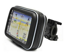 """Impermeable Funda Bicicleta Moto Monturas Para Garmin Nuvi 4.3"""" navegación GPS"""