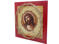 Crown of thorns jesus Handmade Gift From the Holy Land Certificate of Origin