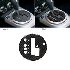 Carbon Fiber Interior Gear Shift Box Panel Fram Trim Fit For Nissan 350Z 2006-09