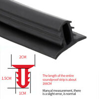 Car Sealing Strip Rubber Dashboard Edges Strips Sound Seal Strip Universal New