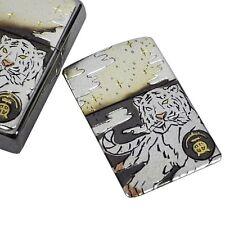 "Zippo 200.YS & Electroforming plate Japanese Chinese zodiac Pattern ""Tiger"""