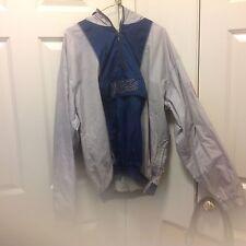 YANKEES VINTAGE STARTER mens size LG. pullover jacket hood /front pocket