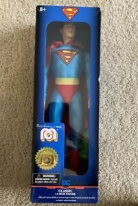 """SUPERMAN Mego Classic 14"""" Limited Edition Action Figure NIB New Marty Abrams"""