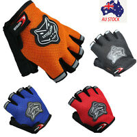 Fashion Summer Bike Half Short Cycling Finger Gloves For Outdoor Sport Hot