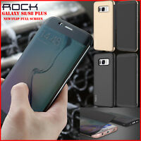 For Samsung Galaxy S8/S8 Plus Pouch Flip Slim Wallet View Window Skin Case Cover