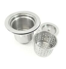 Deluxe 304 Stainless Steel Kitchen Lift out Deep Basket Sink Strainer Drain