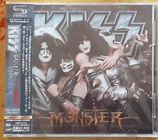 Kiss Monster Japanese CD With Limited Edition Promo Poster.sealed