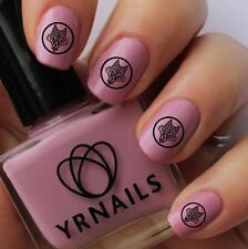 Nail WRAPS Nail Art Water Transfers Decals - Tribal Wolf Stamp - S648