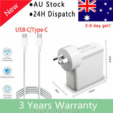 """45W USB C AC Adapter Charger for Macbook Pro 13"""" 2016 2017 2018 iPad Pro 2018"""