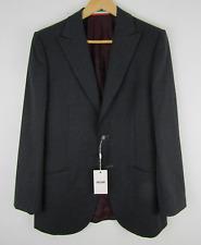 NWT Moschino Charcoal Gray Virgin Wool Blazer Jacket Sz 40R