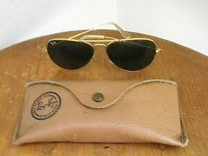 Lunettes de Soleil Vintage Ray-Ban aviator avec etui d'origine
