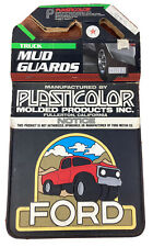 Vintage Plasticolor Ford Truck Mud Guards Flaps NOS