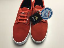 NEW! Emerica Laced  Red/White mens skate size 11.5