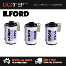 ILFORD DELTA 3200 – 3 PACK – 36 EXPOSURES – 35mm BLACK & WHITE NEGATIVE FILM