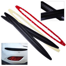 2X Car 42cm Carbon Fiber Rubber Bumper Edge Protector Corner Scratch Sticker