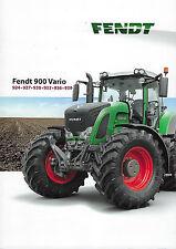 Fendt 900 Vario 2012 Schlepper Prospekt