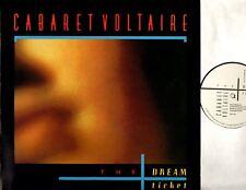 "CABARET VOLTAIRE the dream ticket (original uk) 12"" PS EX+/VG+ CVS 2-12 electro"