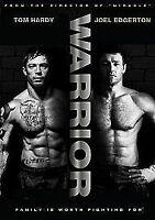 Warrior [DVD] New Sealed UK Region 2 - Tom Hardy, Joel Edgerton