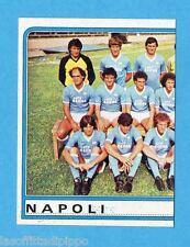 PANINI CALCIATORI 1983/84 -Figurina n.189- SQUADRA SX - NAPOLI -Rec