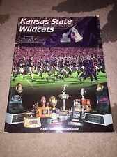 2000 KANSAS STATE WILDCATS COLLEGE FOOTBALL MEDIA GUIDE - BOX5