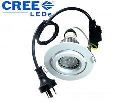 9W CREE LED Light LAMP GU10 CLA Downlight KIT 90mm Gimble Warm White RRP $59