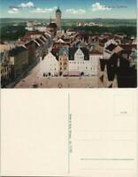 Ansichtskarte Lutherstadt Wittenberg Blick von der Stadtkirche 1912