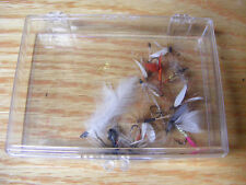 Vintage Collection of Fishing Flies in Box