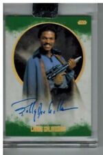 2017 Topps Star Wars Stellar Billy Dee Williams as Lando Calrissian SP Auto /20