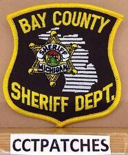 BAY COUNTY, MICHIGAN SHERIFF DEPT (POLICE) SHOULDER PATCH MI