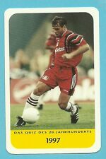 Ulf Kirsten Soccer Football Cool Collector Card Europe Look!
