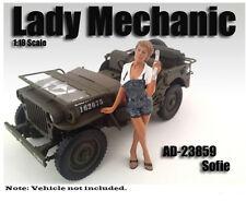 American Diorama Figure: Lady Mechanic Sofie 1:18 Scale