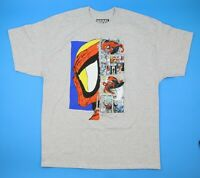 Marvel Spiderman Spidey Profie Men's T-Shirt Size: XL
