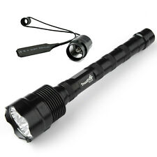 Tactical LED Flashlight Remote Switch 18650 Trustfire 3800LM CREE XM-L2 1 Mode