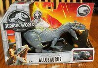 NIB Jurassic World Fallen Kingdom Roarivores Allosaurus Jurassic Park Mattel
